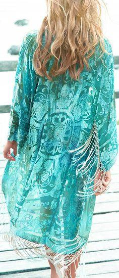 ♔ Boho Turquoise bohemian boho style hippy hippie chic bohème vibe gypsy fashion indie folk look Hippie Style, Gypsy Style, Boho Gypsy, Hippie Chic, My Style, Bohemian Mode, Bohemian Style, Boho Chic, Shades Of Turquoise