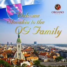 Welcome Slovakia to the OG Family!