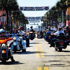 March 6-15 2015 Daytona Beach Bike Week #daytona #daytonabeach #daytonabikeweek #daytonabeachbikeweek #mainstreet #hotleathers #bikeweek #motorcyclerally