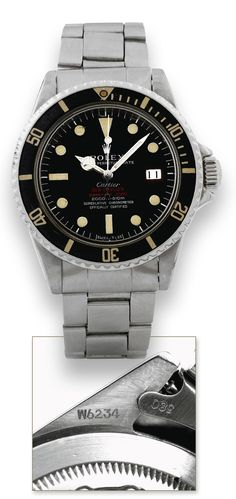 Rolex Double Red Sea Dweller Signed By Cartier ($91,000+)