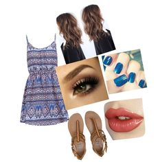 festival date by annikasallie on Polyvore featuring polyvore fashion style New Look Billabong
