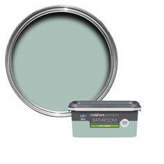 Colours Bathroom Eau De Nil Soft Sheen Emulsion Paint 2.5L | Departments | DIY at B&Q
