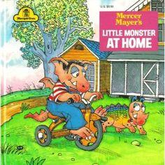 Vintage Children's Books: Little Monster by Mercer Mayer