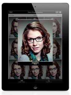iPad App for in-store eyewear (pre-)selection Eye Jokes, Optometry, Ipad App, Optician, Iphone App, First World, Social Media Marketing, The Selection, Eyewear