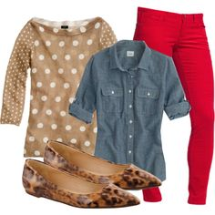 Leopard and Polka Dots :)