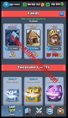 Clash Royale Hack - Cheats for iOS - Android Devices - Unlimited Gems App - Unlimited Gold App