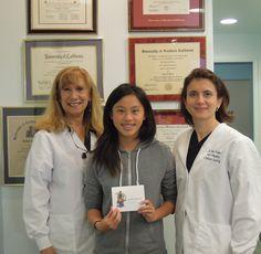 Angela won our 3rd Quarter 2014 $50 Gift Card drawing!!  Yayyy Angela :)