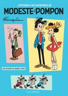 Modeste et Pompon, un trésor signé Franquin en intégrale au Lombard - http://www.ligneclaire.info/franquin-lombard-27315.html