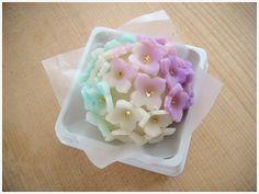 Japanese Sweets, wagashi, 紫陽花