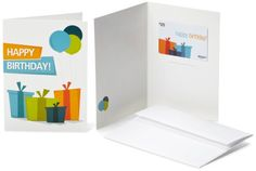 Amazoncom 25 Gift Card in a Greeting Card Birthday Presents Design ** Check out the image by visiting the link.Note:It is affiliate link to Amazon. #MakeaGift