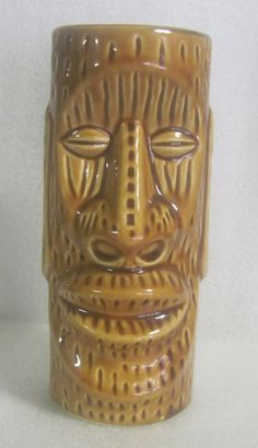 Vintage tiki glass-some bars served drinks in these, you could take these home