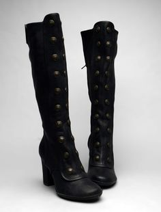 Frye Adrienne Tall Button Boot. Such a classic.
