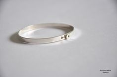 Silver Platted Bangle @ editionlimitee.com.sg
