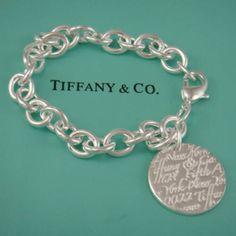 I have one exactly like this... :) tiffany charm bracelets #tiffany
