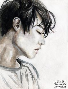 watercolored painting with #LeeJoon for Vogue FINISHED :3 #mblaq #kpop #kpopfanart #art #watercolor #fanart #painting pic.twitter.com/ny32ZmZA8i