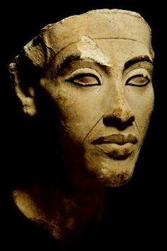 незаконченная голова эхнатона. Зрелая Амарна