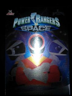 Power Ranger in Space Complete DVD series.