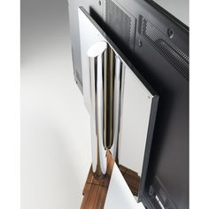 No Need To Keep Twisting Your Neck The Cubus Pure TV Stand Will Swivel Into