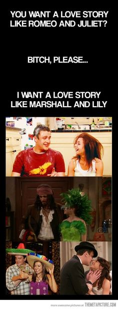 Marshall and Lily. For real they are the best