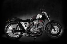 "Kawasaki W650 Brat Style ""Superrench"" by Angry Lane #motorcycles #bratstyle #motos 