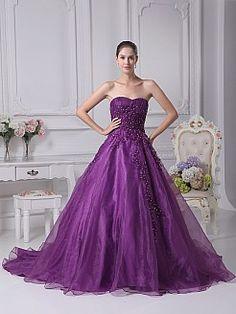 Madelle - Бальное платье Атласная свадебном платье с Аппликации - RUB 18239,86руб.