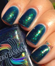 My Nail Polish Obsession: Indigo Bananas Acid Ocean