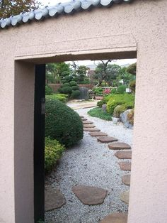 Footpaths are a Feng Shui way to connect your main house with out buildings + other sacred areas in our garden.