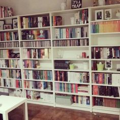 Love a large well organised shelf! : @1day1bookpoland by _thebookshelfie