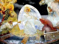 """Easter Sunday A Sacred Pascha.. The Stichera of Pascha-First Plagal Mode Chanted by""""Choir of Vatopaidi Monastery, Mount Athos."""