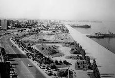 Η Νέα Παραλία τη δεκαετία του 1960.(πριν το Μακεδονία Παλλάς).