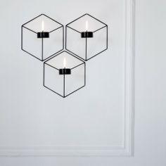 Portacandele Pov da parete #menu #design