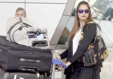 Celebs snapped at the Mumbai airport returning from their New Year holidays