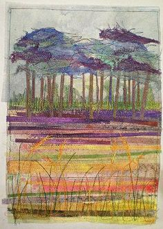 September Journal, Ineke Berlyn - Little Gem Quilts...I love the soft colors of this