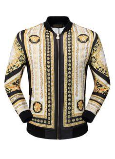 Replica VERSACE Jacket For Men 2017 Size M-3XL