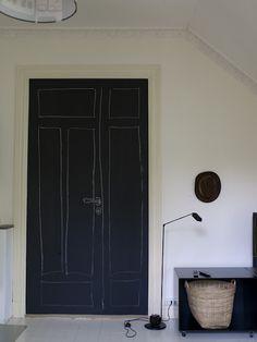 chalkboard door ♥