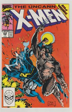 Uncanny X-Men Vol 1 258 Comic Books. NM. by RubbersuitStudios #xmen #wolverine #psylocke #comicbooks #jimlee