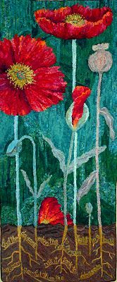 Wandaworks Gallery - Wandas Work.  Hooked rug....gorgeous!