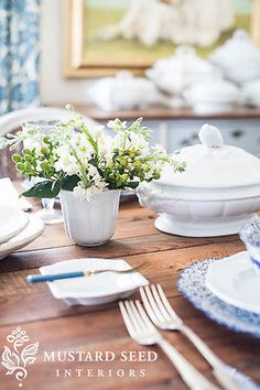 tips on setting a beautiful table   miss mustard seed