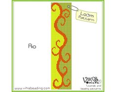 Loom Bracelet Pattern: Rio - INSTANT DOWNLOAD pdf -Discount codes are available - bl207