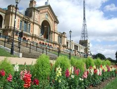 Alexandra Palace is a park, rec center, and concert venue wrapped into one Victorian package