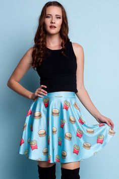 Take Out Skater Skirt - $55.00 AUD