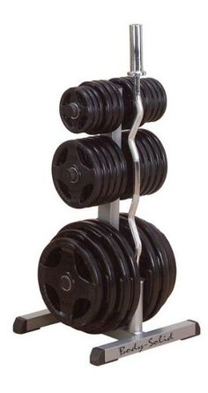 Body Solid Olympic Weight Tree & Bar Rack