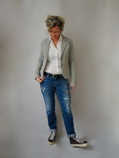 Patches und Jeans | women2style
