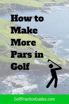 Discover the keys to making more pars in golf. Once you can make more pars, you'll see your scores drop and feel more confident in your skills which will further help you shoot low. Find more helpful golf tips in our weekly emails by joining our email community. Visit GolfPracticeGuides.com to sign up.
