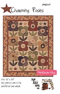 Charming Posies Quilt Pattern Jan Patek Quilts