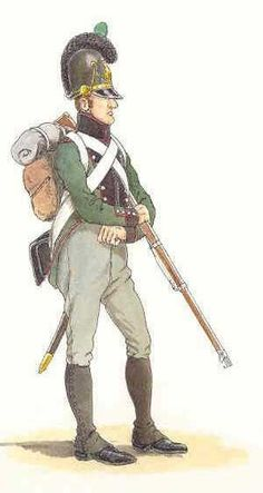 Chasseur du 3e bataillon d'infanterie légère (1811)