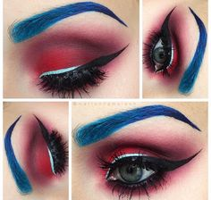 Great 4th of July makeup
