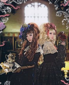 Oh yes. Gothic Lolita.