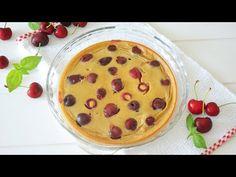 Tarta Francesa: Clafoutis de Cerezas | Fácil y SALUDABLE | AUXY - YouTube