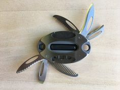 21 function multitool fits in a pocket or on a keychain. Must Have Camping Gear, Camping And Hiking, Must Have Tools, Tent Poles, Edc Tools, Camping Supplies, Fire Starters, Camping Essentials